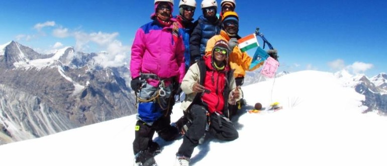Summiting Bhagirathi III